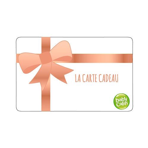 Carte cadeau Babycalin