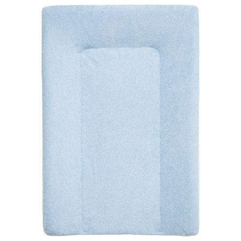 Housse de matelas à langer en éponge 50x70 cm - Bleu