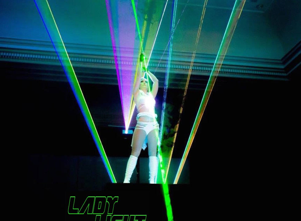 Finale Pose form Lasergirl Act