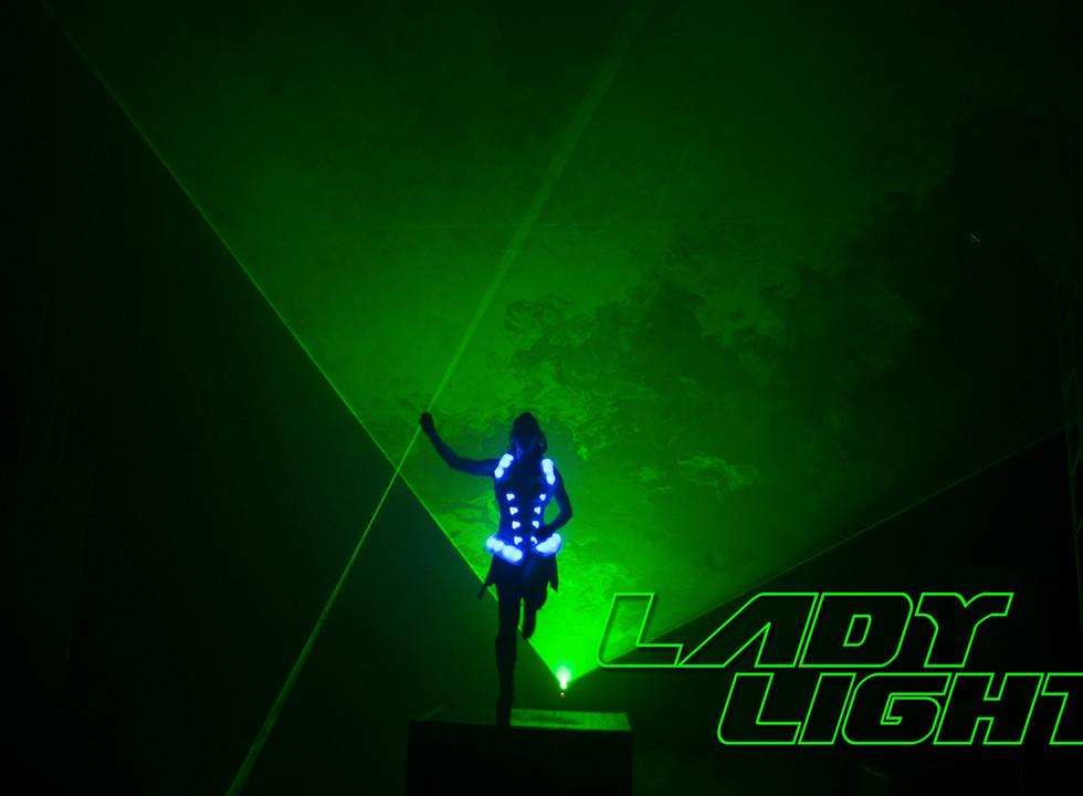 Lasergirl in Shadow
