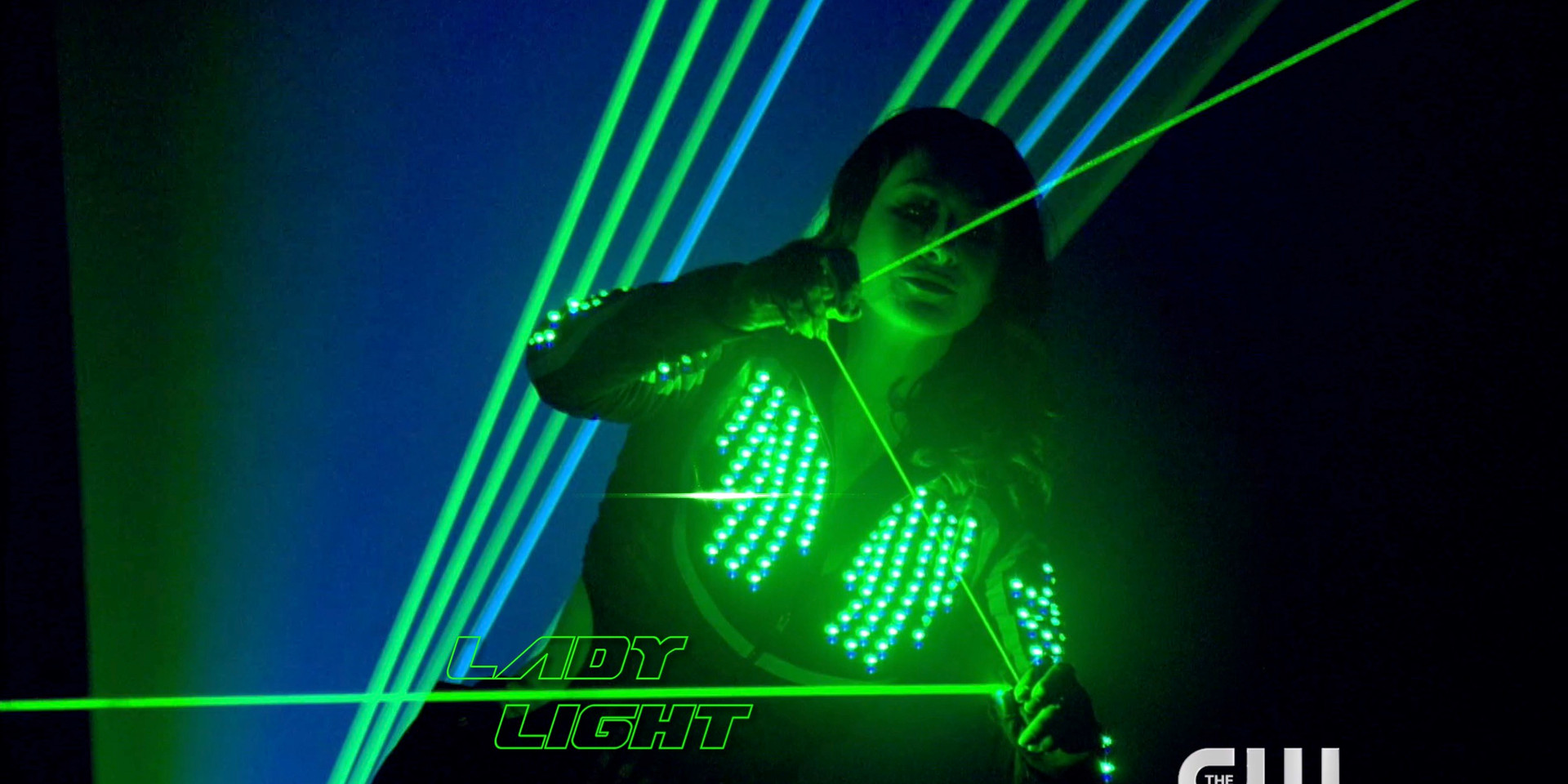 Lady Light on The CW