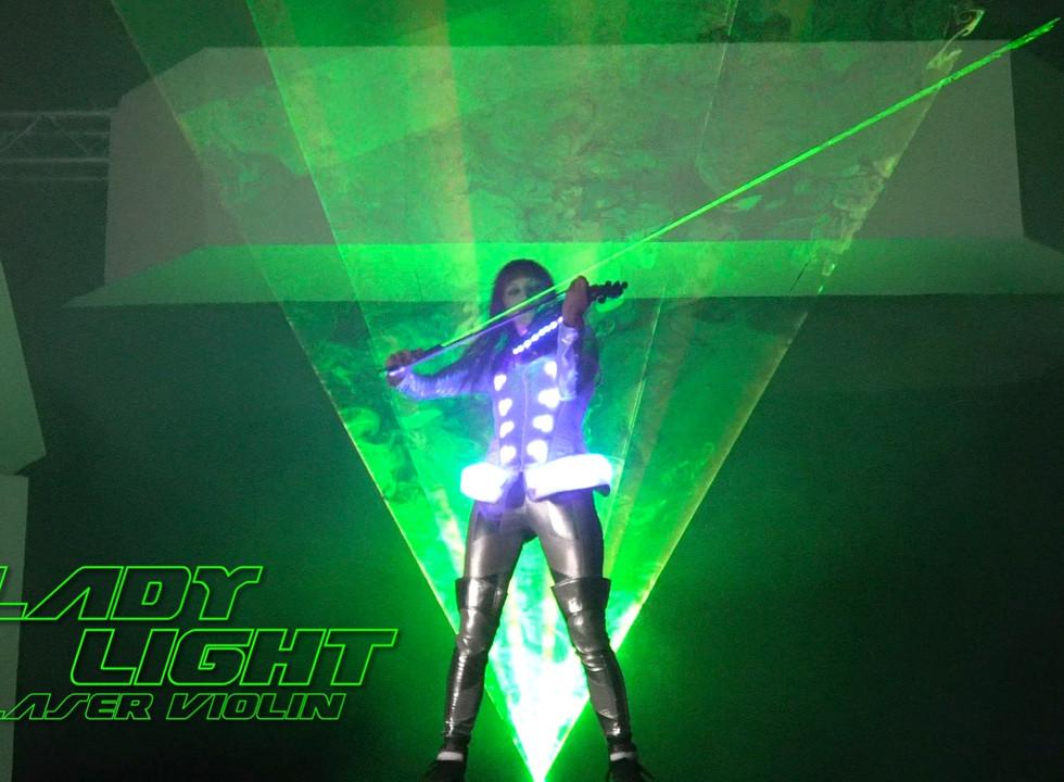 Laser Violin Lasergirl