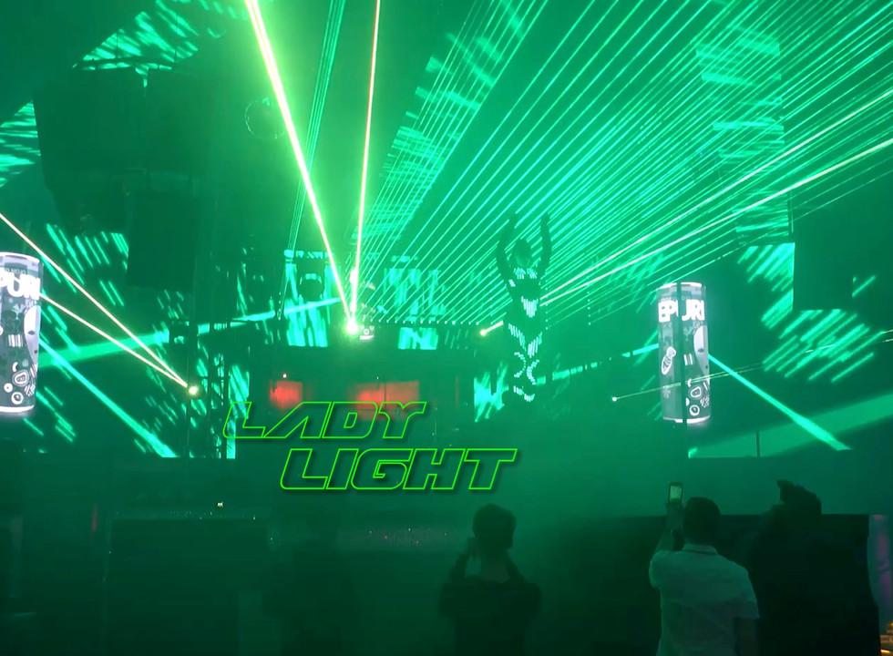 Drai's Nightclub Lasergirl