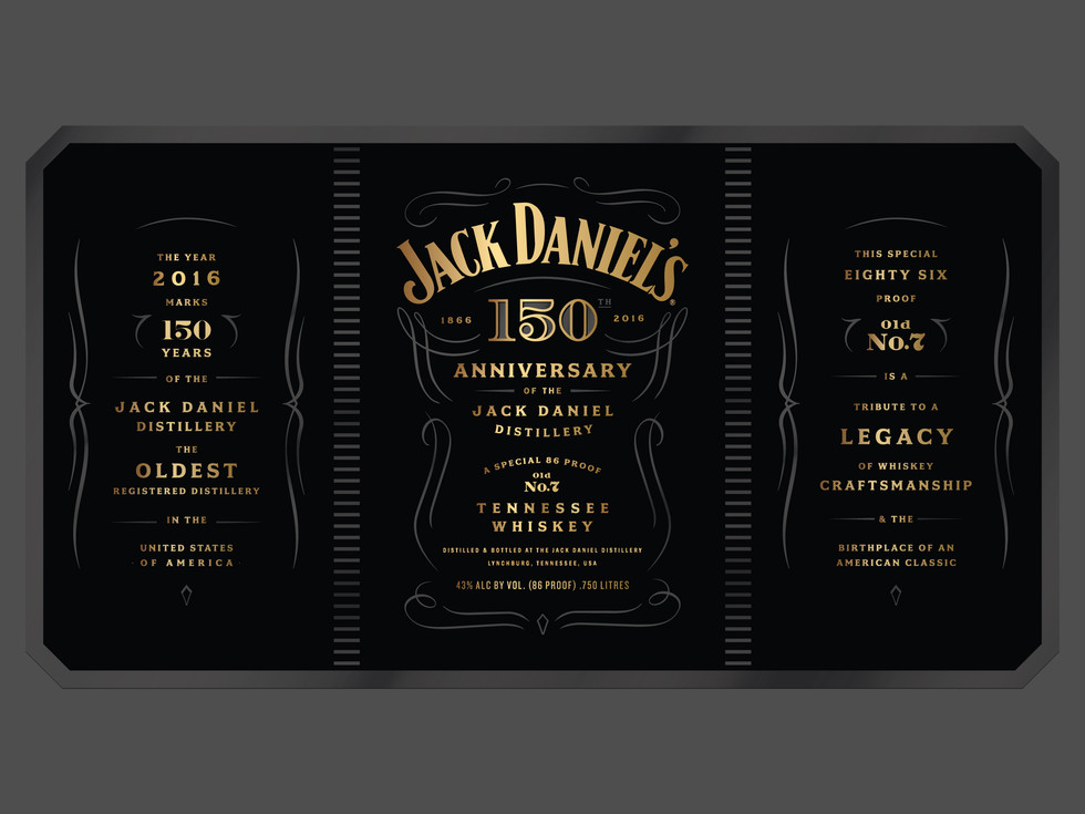 Jack Daniel's 150th Anniversary   Erickson Design Co.