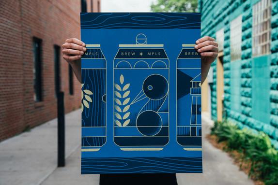 Posters & Pints | Erickson Design Co.