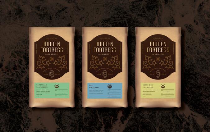 Hidden Fortress Coffee Roasters | Erickson Design Co.