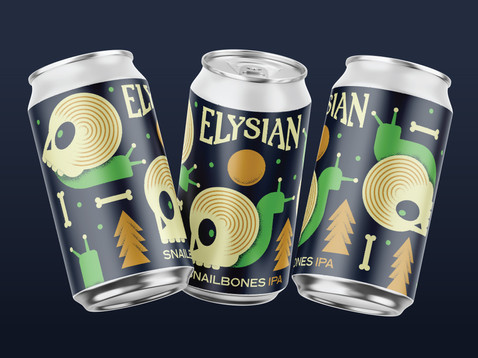 Elysian Brewing Snail Bones | Erickson Design Co.