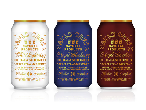 Maple Creek Natural Products Syrup Cocktails | Erickson Design Co.
