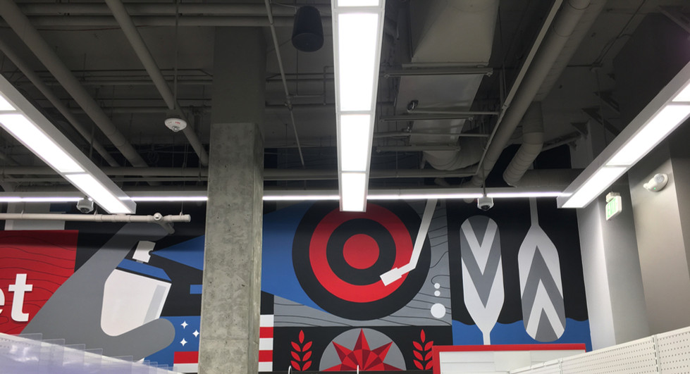 Target Uptown Minneapolis Mural | Erickson Design Co.