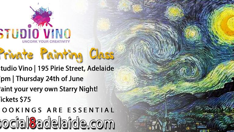 🎨 Private Painting Class | Studio Vino