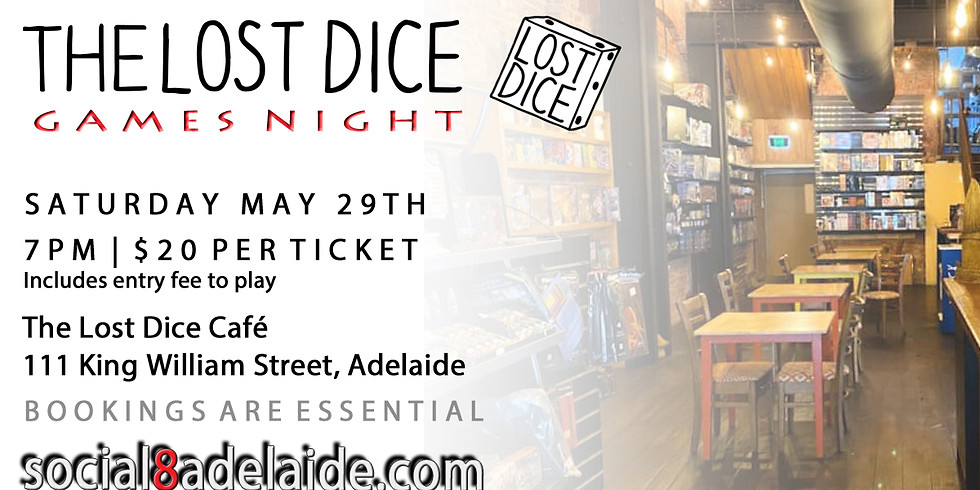 🎲 Games night at The Lost Dice!