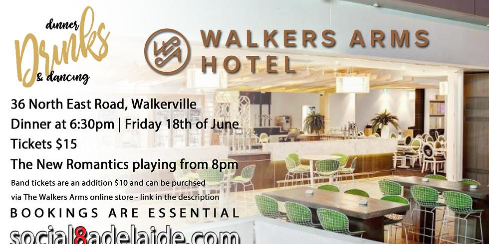 Dinner Drinks & Dancing   The Walkers Arms