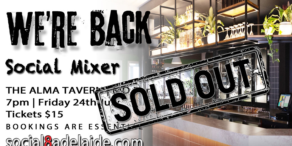 WE'RE BACK | Social Mixer Style!
