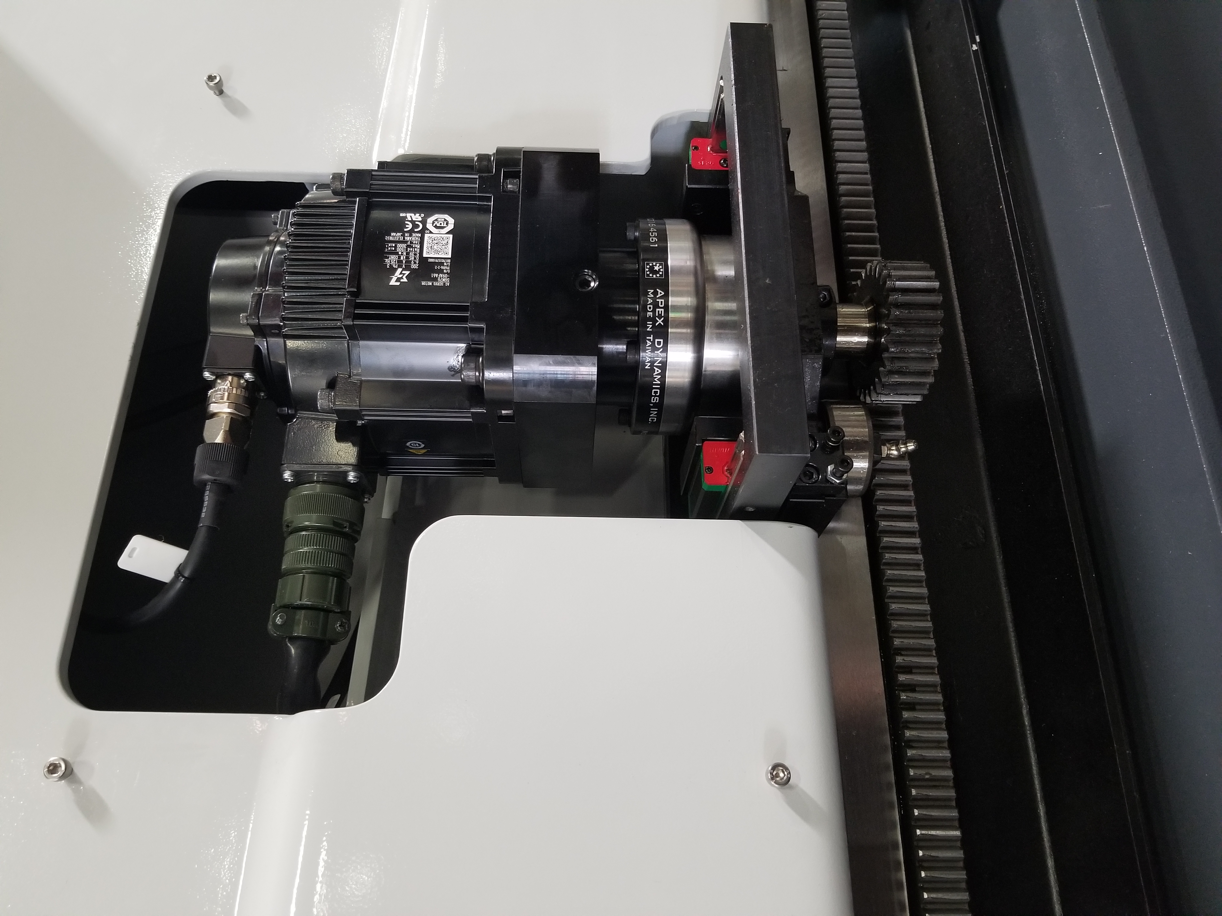 Vertical Idler Drive System