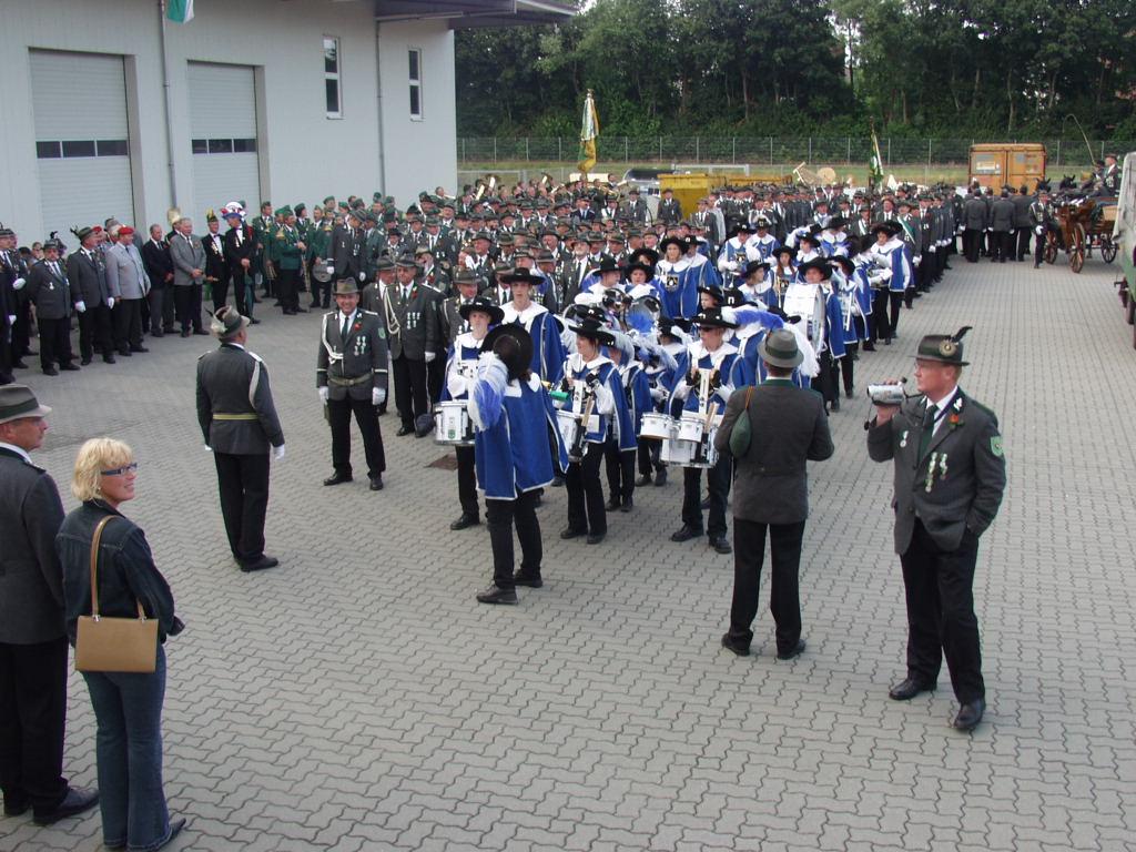 Schützenfest Bergen 2003