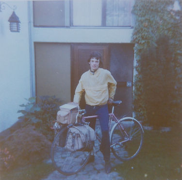 1980 Arriving home from 48 days 4200Km 5