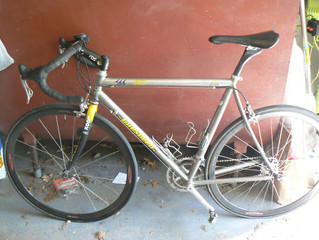 1998 Litespeed Vortex Titanium 650Bx35 conversion