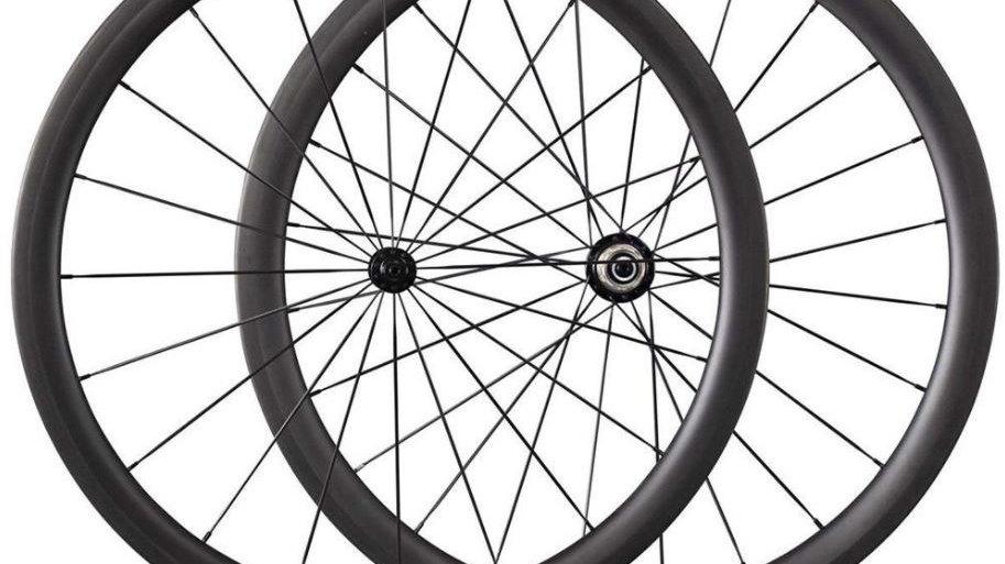 38mm Deep Tubular Carbon Wheels