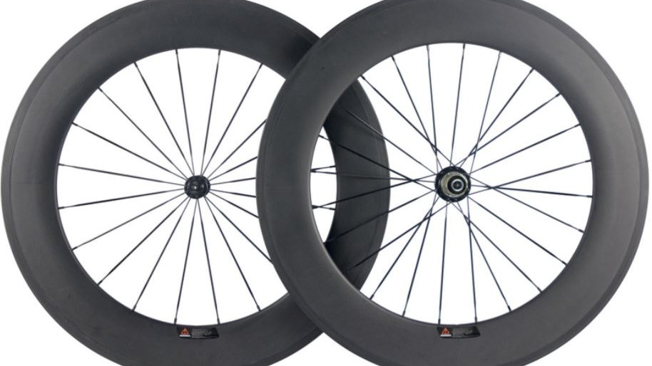 88mm Deep Tubular Carbon Wheels