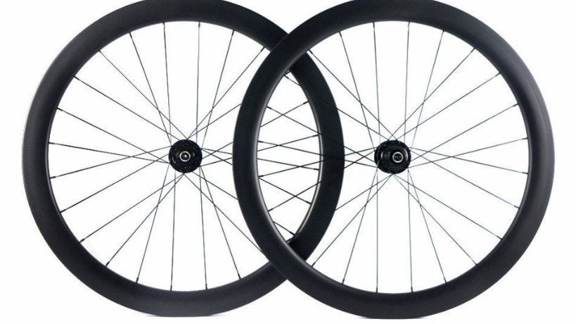 58mm Deep Disk Clincher/Tubeless Carbon Wheels