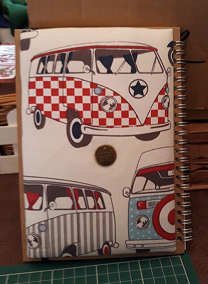 Padded & Embellished Note Books