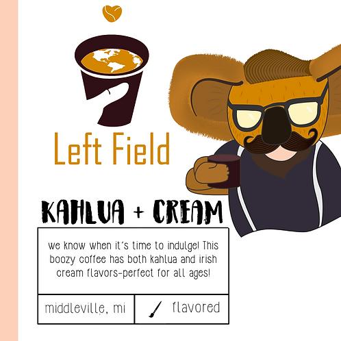 Kahlua + Cream