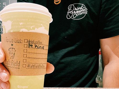 Drink Organic Coffee Tee