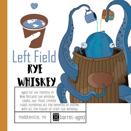 Barrel Aged Rye Whiskey Coffee
