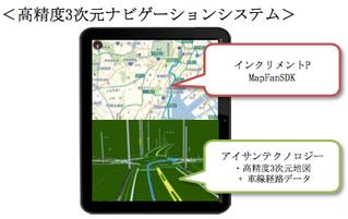 自動運転向け高精度3次元ナビゲーションシステム 「3Dツインナビ」共同開発のお知らせ