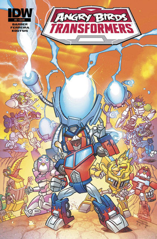 Angry Birds Transformers #2 - cover