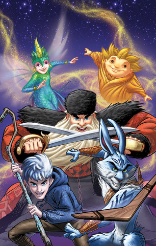 Rise of the Guardians prequel - cover