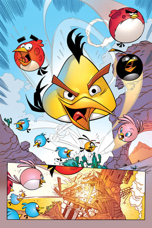 Angry Birds Transformers #1 - page 06