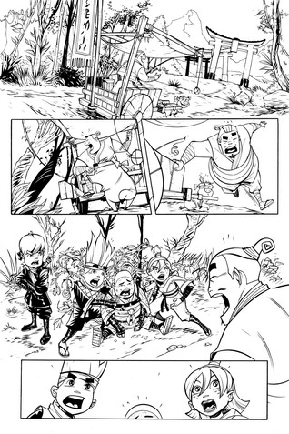 Fruit Ninja #5 - page 01