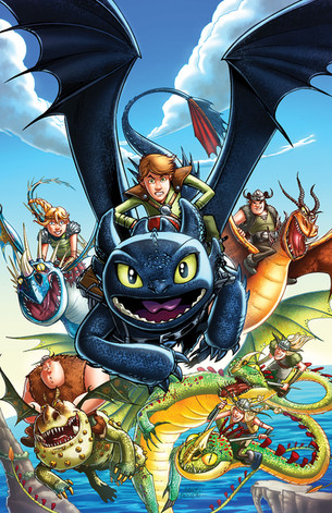 How To Train Your Dragon #1 - cover
