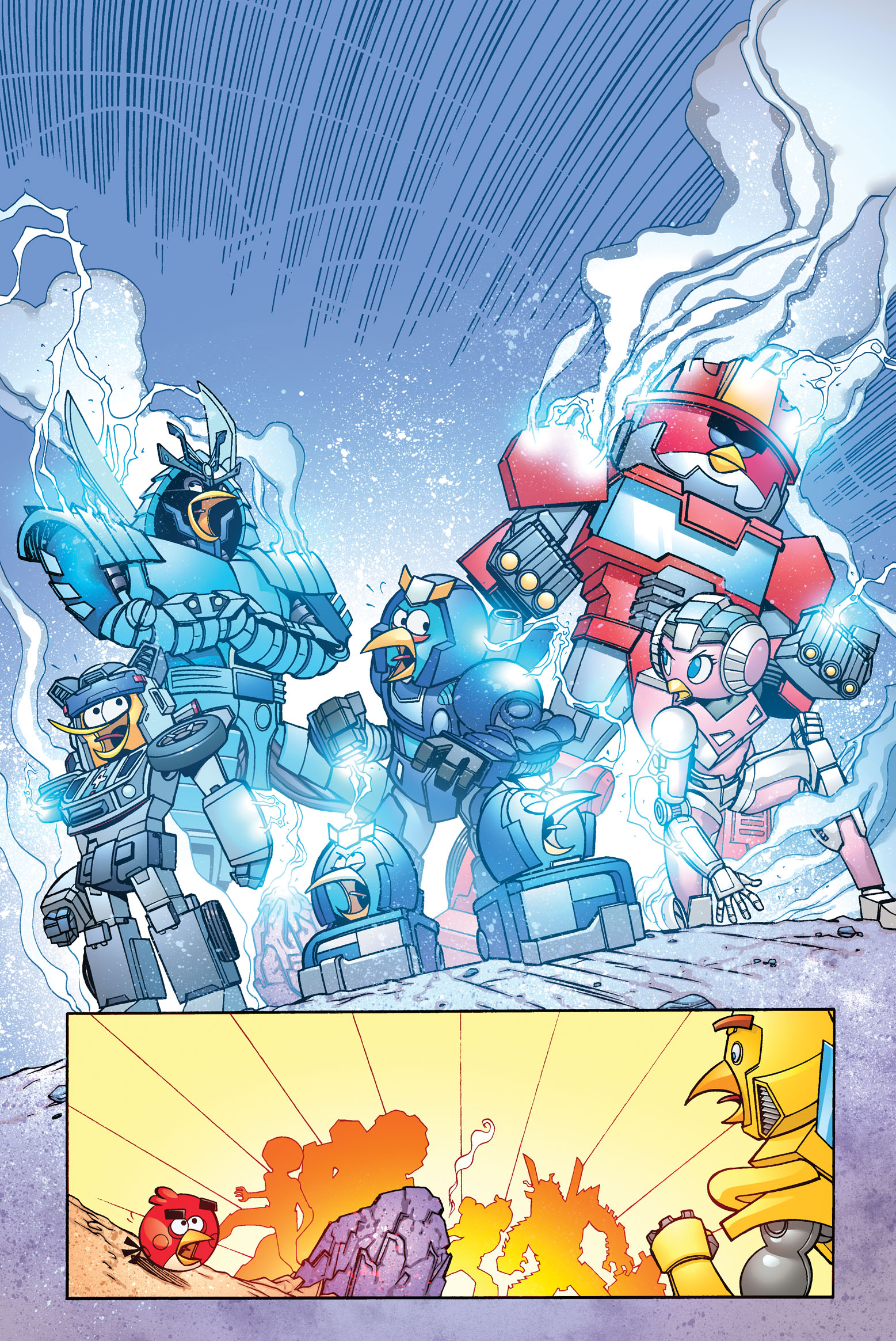 AngryBirds Transformers#2 - IDW
