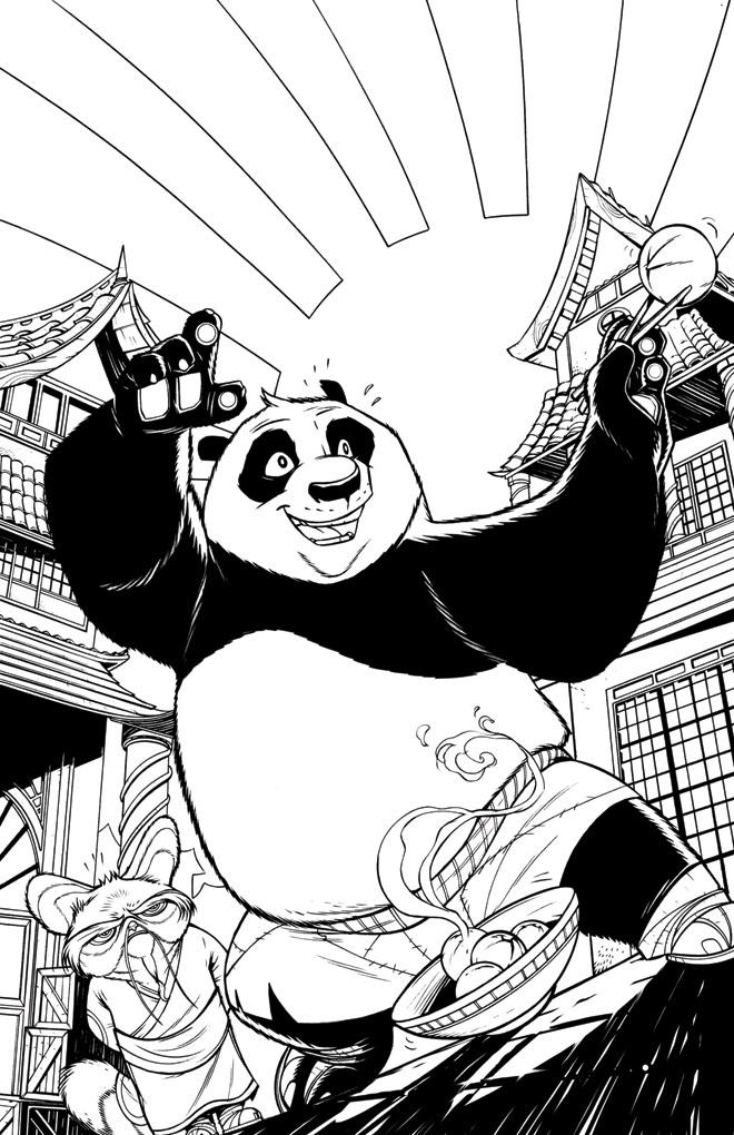 Kung Fu Panda comics Vol.2