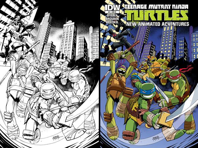 Teenage Mutant Ninja Turtles - The Animated Adventures #11 (cover)