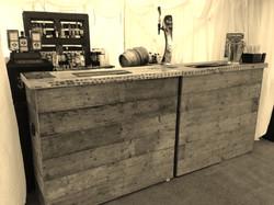 Rustic Bar Hire Lymington