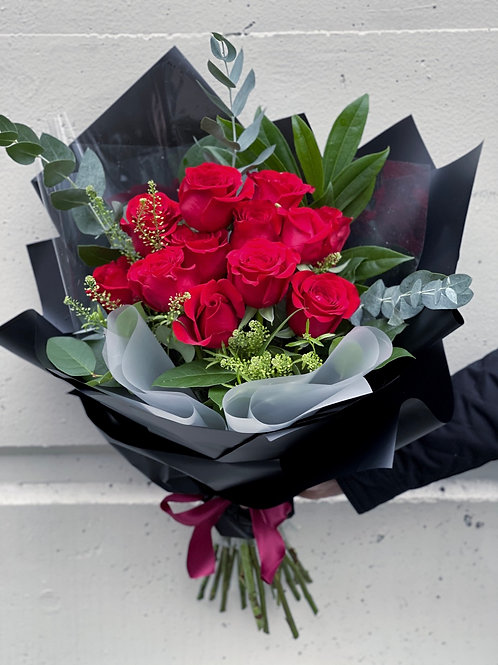 Deluxe Wrapped Premium Rose