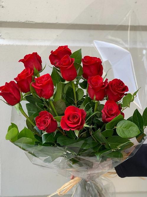 Premium  Extra Long Stem Red Roses