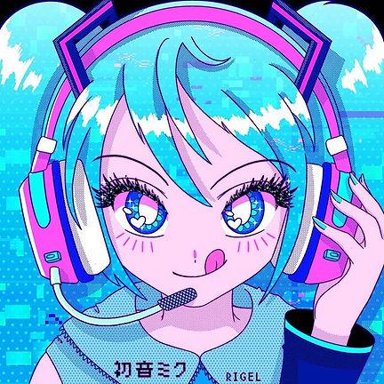 MIKUUU💙🎧 #hatsunemiku #mikuhatsune #mi