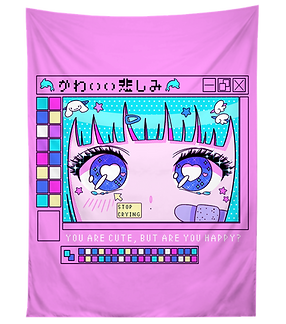 CuteButHappy_tapestry_900x.png