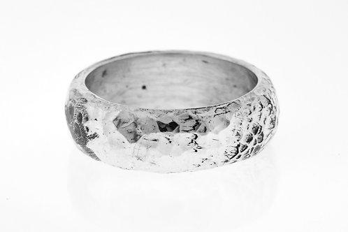 טבעת וינטג מכסף סטרלינג כסף 925 בעיצוב מודרני בעבודת יד ישראל '70 aaronjewelryart.com