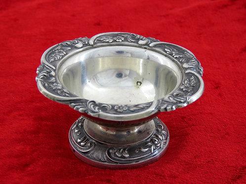Viennese silverware for candy saltware vessel decorated herbal pattern Vienna 20