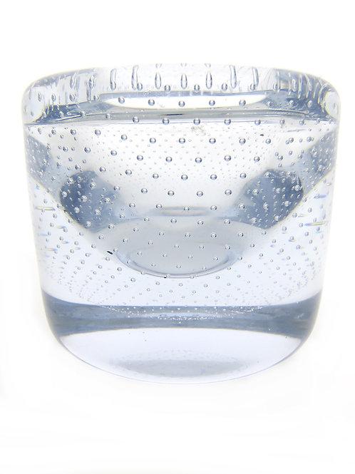 קריסטל ארט גלאס וינטג' בועות מסודרת מתוצרת אורפוס בעבודת יד שוודיה 49 aaronjewelryart.com