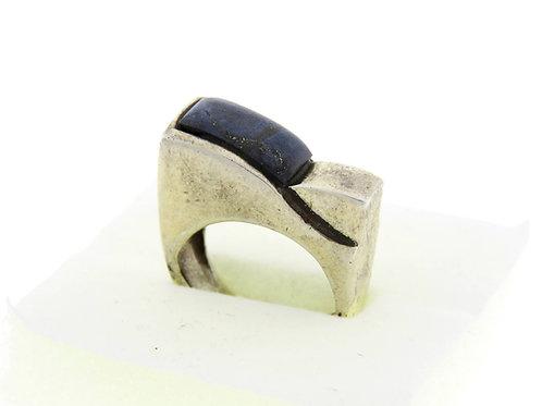 וינטג' מכסף סטרלינג  925 מעוצב מודרני ישראל 60' עבודת יד