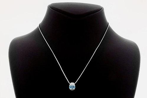 שרשאת ותליון וינטג' מכסף סטרלינג 925 עיצוב מודרני עבודת יד ישראל 90 'aaronjewelryart.com