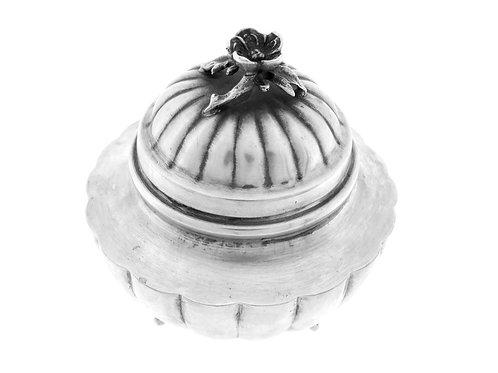 וינטג' קופסא מכסף 800 לסוכריות ,דבש או לאתרוג 116 גרם aaronjewelryart.com