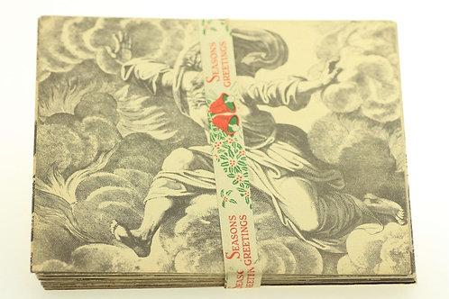 """לוט 40 גלויות שונות בנושא התנ""""ך של הצליינים נוצרים ישראל '50"""