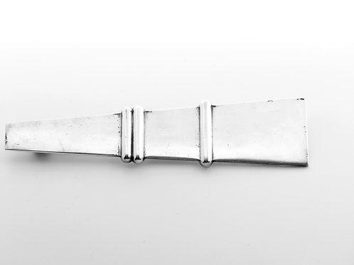 סיכה וינטג' מכסף מלא 835 עיצוב ארט דקו תוצרת הולנד שנות ה -'30 עבודת יד aaronjewelryart.com